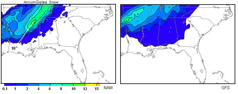 Winter Weather More Likely | The Alabama Weather Blog - Mobile