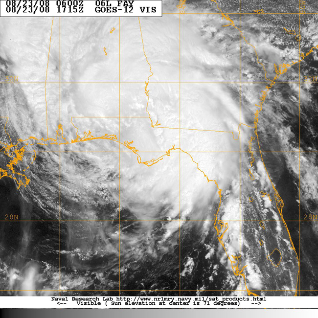 The Latest on Fay – 1 p m    The Alabama Weather Blog - Mobile