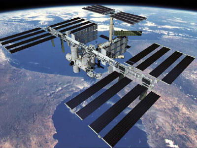 ISS To Fly Over Early This Evening
