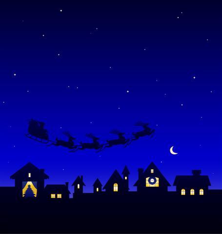 Santa's On His Way!