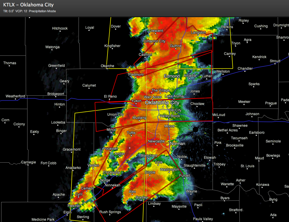 More Oklahoma Severe Weather
