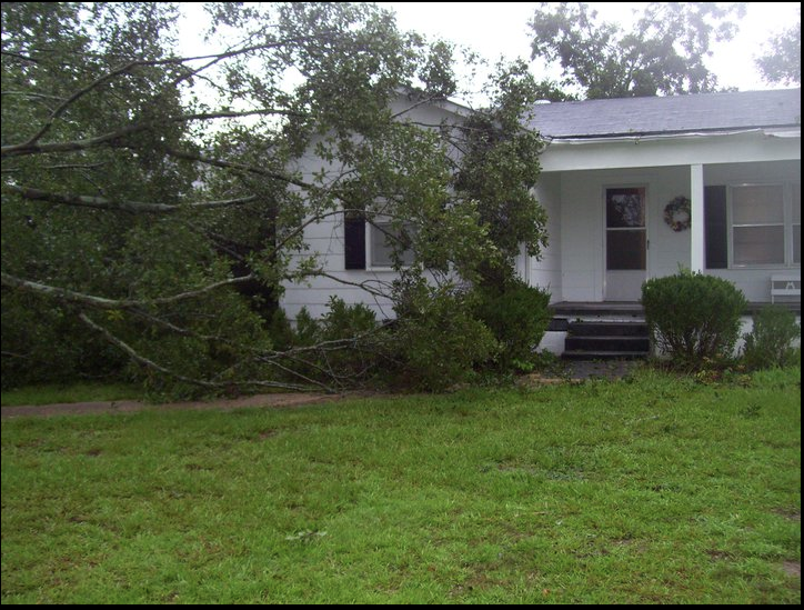 Some Damage Reported from Jefferson County Earlier This Morning