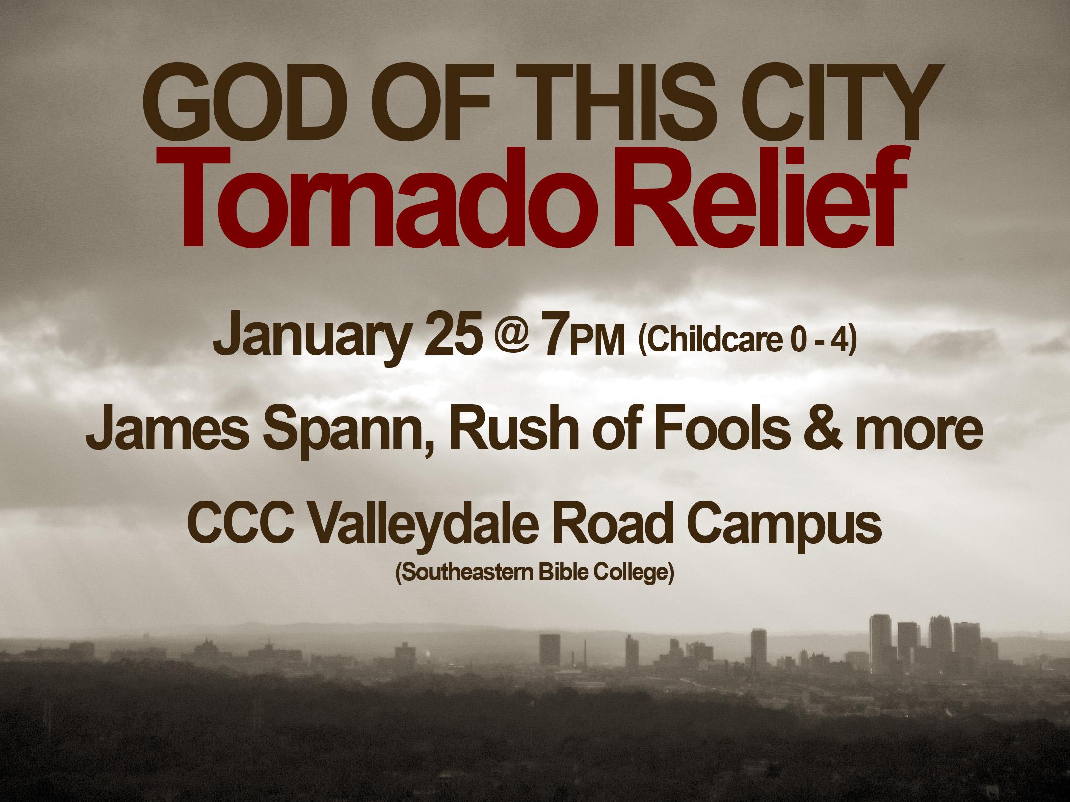 Join Us Tomorrow Night