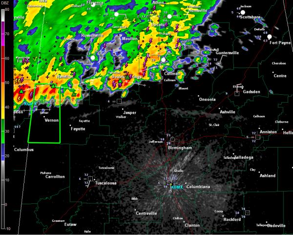 Flash Flood Warning Issued for Lamar County : The Alabama ...