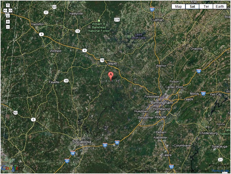 Small Walker County Quake This Morning