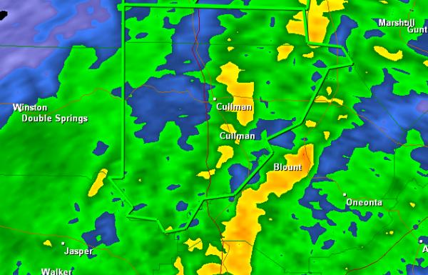 Flash Flood Warning: Cullman County til 11:30 PM