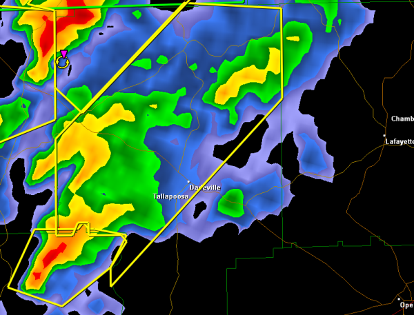 Severe Thunderstorm Warning : Tallapoosa County until 11:30 PM