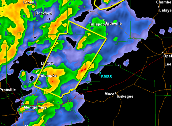 Severe Thunderstorm Warning : Elmore/Tallapoosa until 11:45 AM