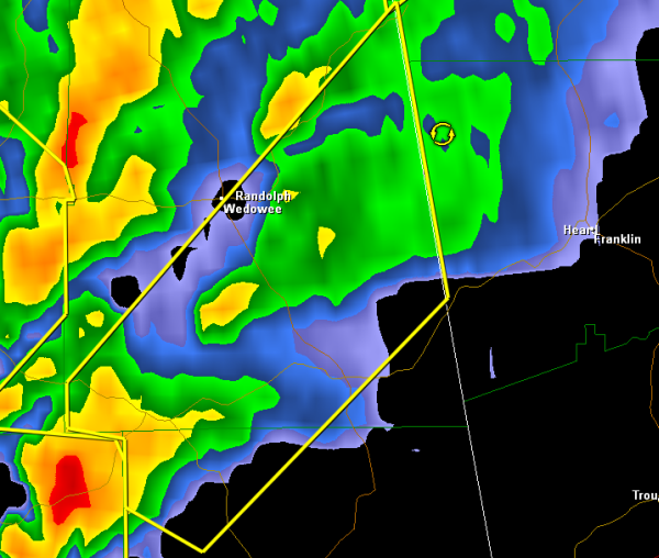 Severe Thunderstorm Warning : Chambers/Randolph until 12:15 PM