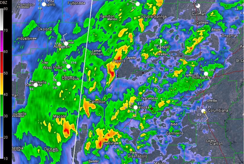 Severe Thunderstorm Warning: Greene County