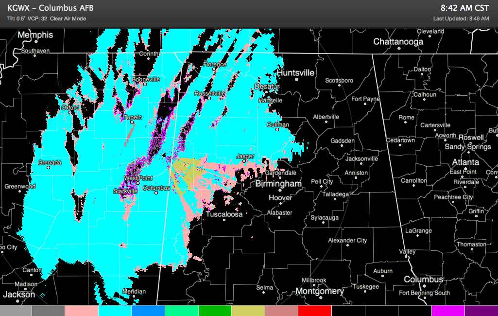 Snow Expanding, Intensifying