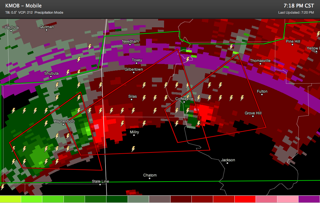 Another Tornado Headed Toward Washington/Choctaw