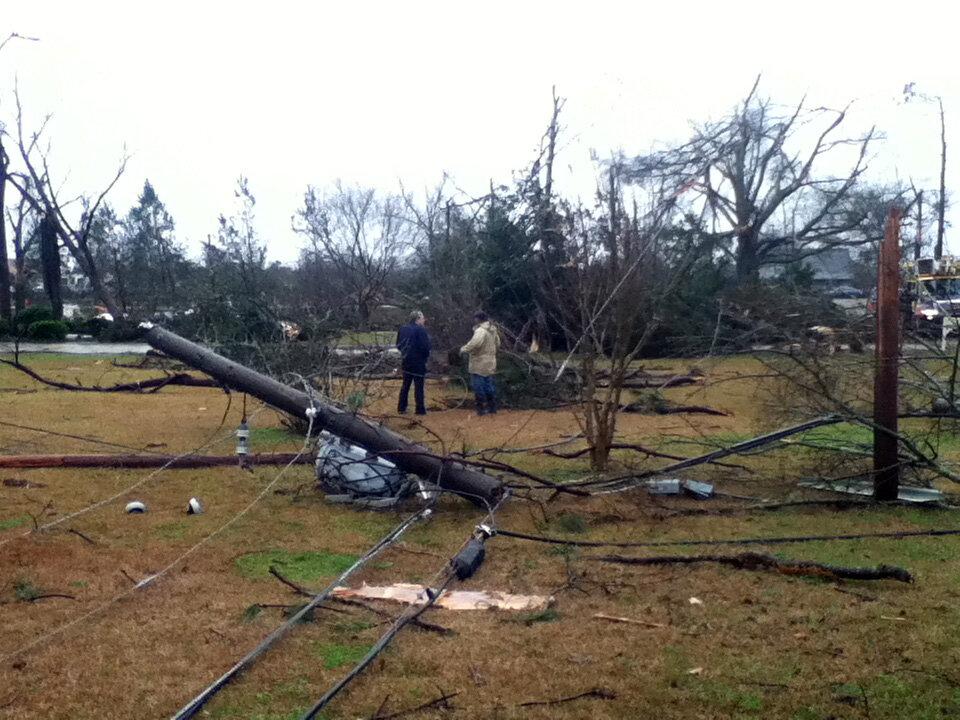 Hattiesburg Tornado Now Rated EF-4