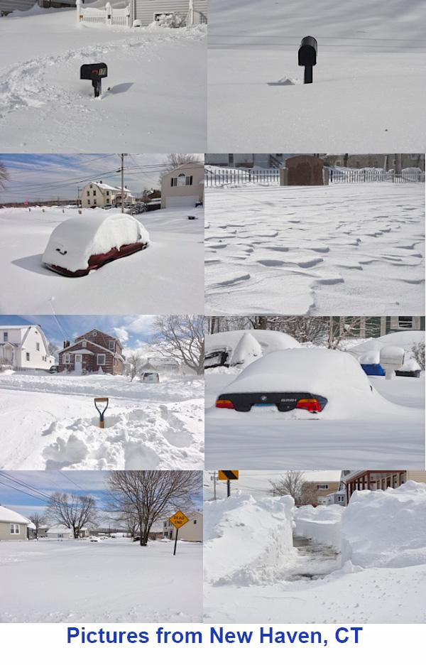 Connecticut Snow Pictures