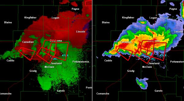 Tornado Outbreak in Oklahoma City