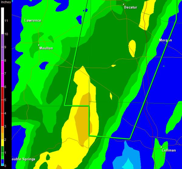 Flash Flood Warning Cullman County until 5:15PM