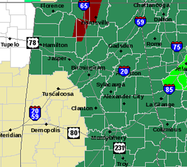 Flash Flood Watch Expanded West