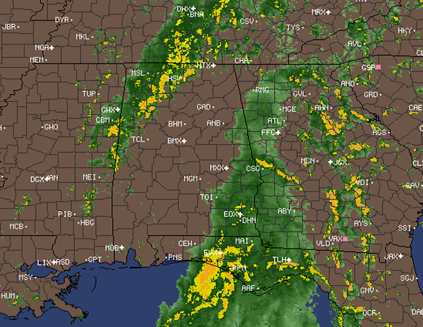 Rain to the West and Rain to the East