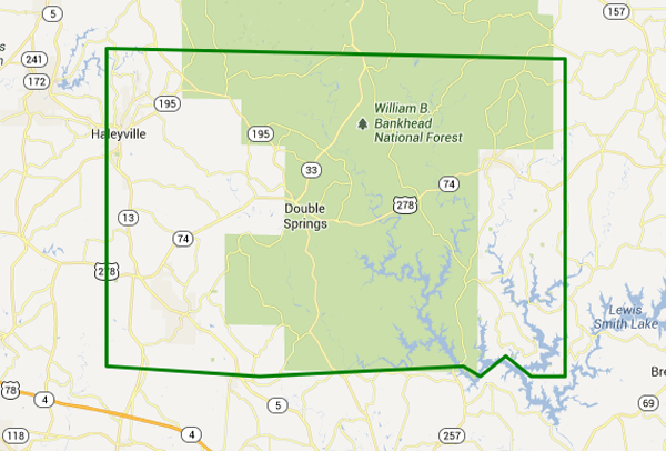 Flash Flood Warning Winston County Extended until 9:30 PM