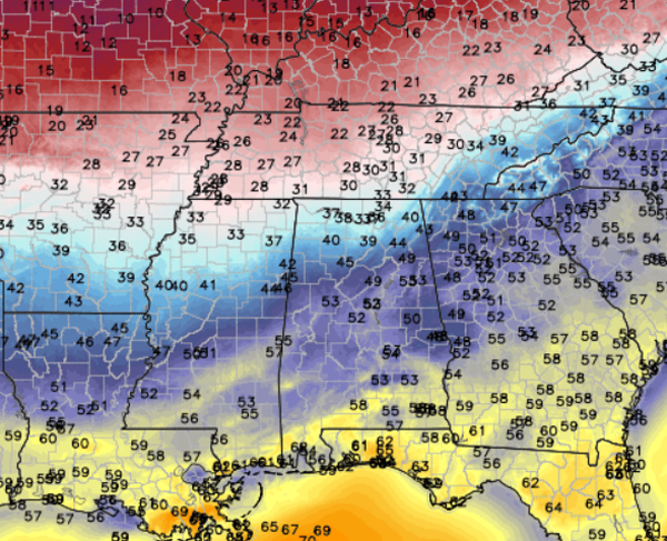 Cold Air Arriving Now