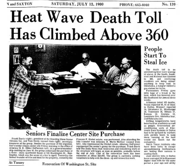 On This Date in 1980:  The Heat Was the Headline