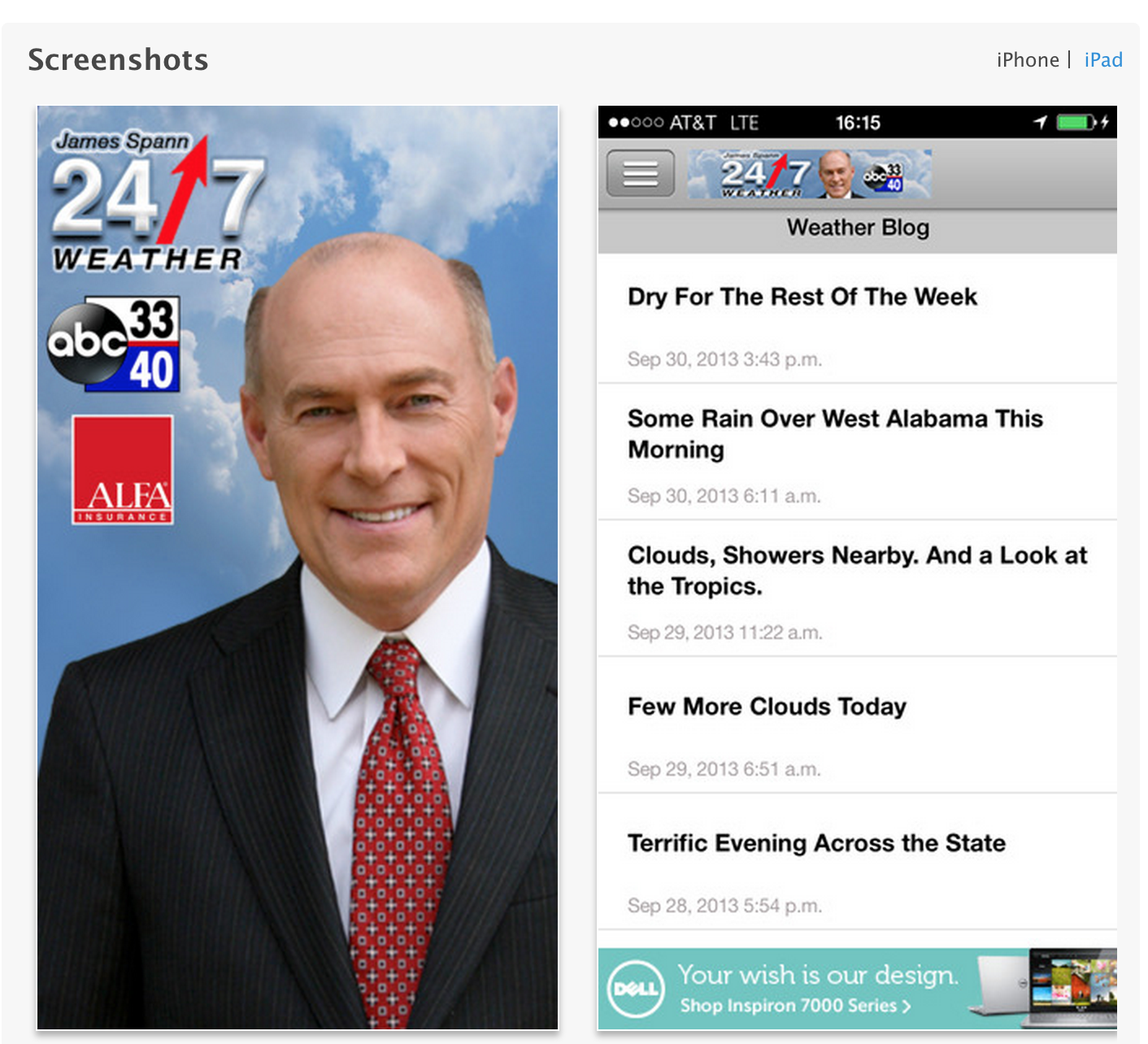 James Spann App Update | The Alabama Weather Blog - Mobile