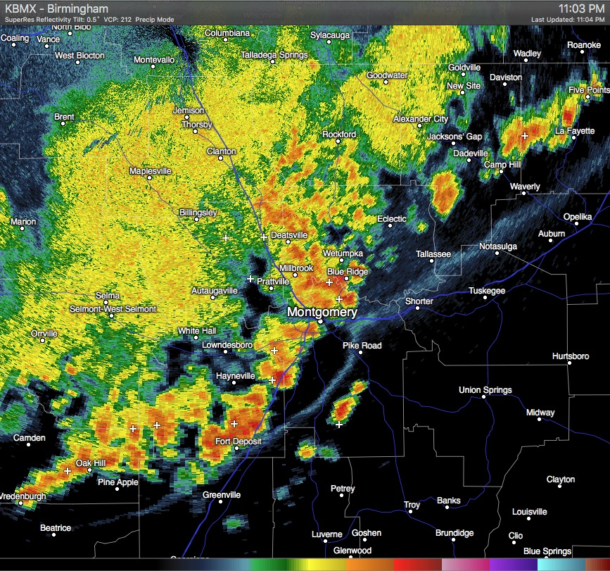 Significant Weather Advisory – Macon, Lowndes, Elmore