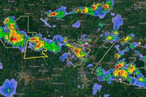 Severe Thunderstorm Warning for Tuscaloosa County