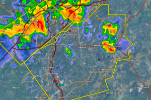 Severe Thunderstorm Warning Shelby County