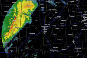 Severe Thunderstorm Watch until 9PM for Much of West-Central Alabama