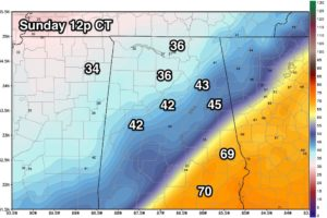Arctic Air Arrives Tonight; Warmer, Stormy Weekend
