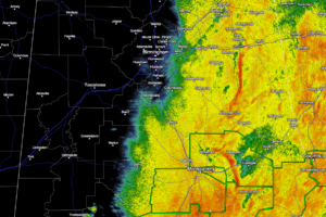 Severe Weather Risks Has Dropped Considerably & Confined To East Alabama