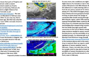 Satellite Sheldon on Today's Severe Weather in the Mid-Atlantic and Northeast