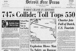 March 27, 1977:  The Worst Aviation Accident in History
