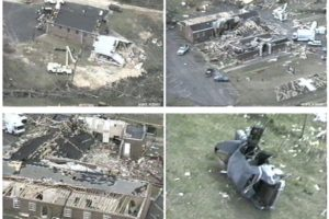 March 27, 1994:  The Goshen United Methodist Church Tornado
