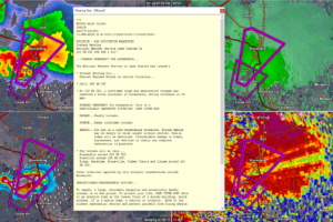 Tornado Emergency Issued for Alexandria LA