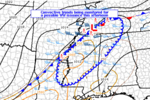 Severe Weather Watch May Be Issued