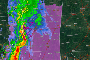 HEADS UP:  Tornadic Storms May Reach West Alabama By 10:30 a.m.   Be Ready!!