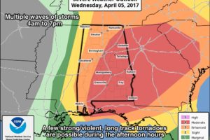 Dangerous Severe Weather Threat Tomorrow