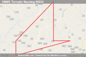 Tornado Warning Expired For Parts Of Pike County