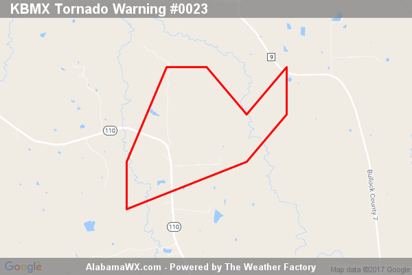 Tornado Warning Canceled For Parts Of Bullock And Montgomery Counties