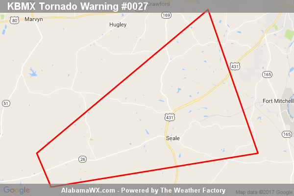 Tornado Warning Canceled For Parts Of Russell County