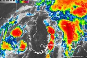 Cindy Expected To Weaken While Moving Farther Inland