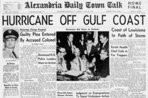 On This Date in 1957:  Florida Congressman Claims Hurricane Forecasts Scare Away Tourists