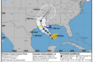 Invest 92L Now Upgraded to Potential Tropical Cyclone Three