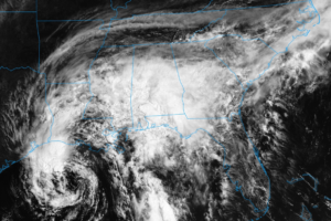 GOES-16 Imagery of Tropical Storm Cindy