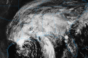 Heavy Rainfall From Cindy Affecting The Northern Gulf Coast