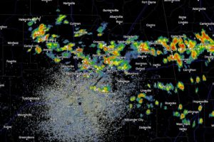 Showers and Storms Numerous Across North Central Alabama