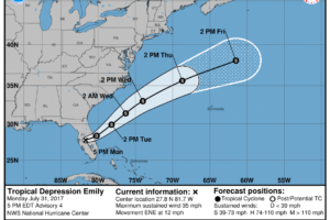 Rush Hour Check On Central Alabama's Weather, Emily Now A Depression