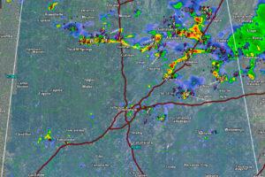 Mid Afternoon Radar Update
